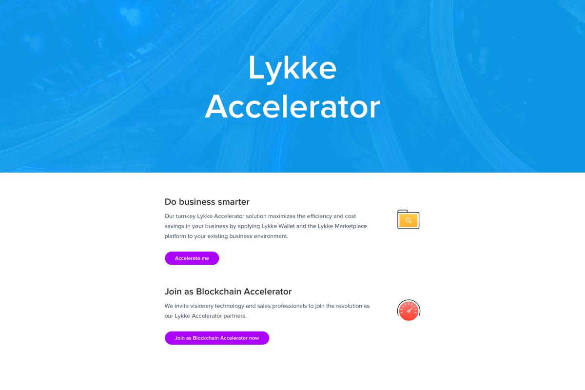 Lykke Announces OEM Services - Lykke Accelerator