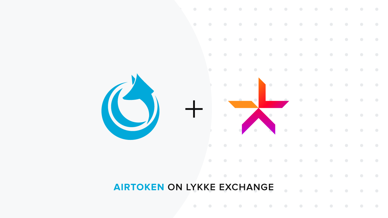 Lykke to list AirToken (AIR) on the Lykke Exchange